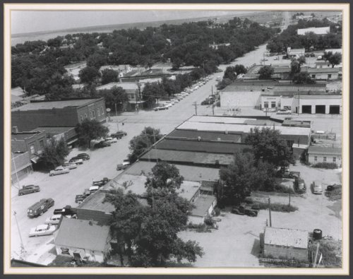 Main Street and Highway 50 in Cimarron, Kansas - Page