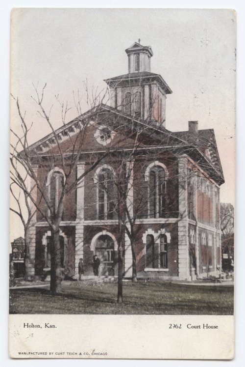 Jackson County courthouse in Holton, Kansas - Page
