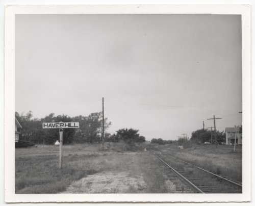 St. Louis and San Francisco Railway sign board, Haverhill, Kansas - Page
