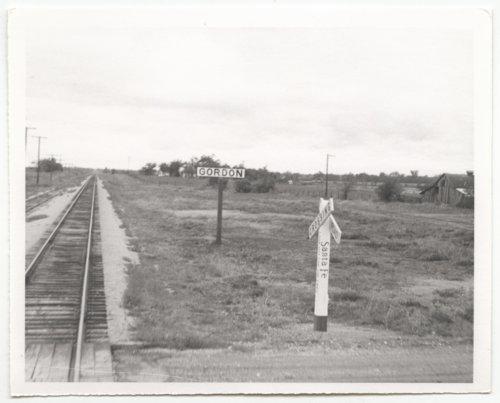 Atchison, Topeka and Santa Fe Railway Company sign boards, Gordon, Kansas - Page