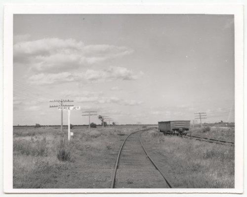 Chicago, Rock Island & Pacific Railroad & Missouri Pacific Railroad sign board, Pierce Junction, Kansas - Page