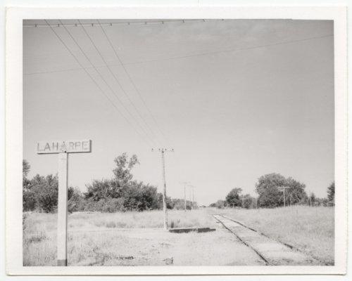 Missouri Pacific Railroad Company's sign board, La Harpe, Kansas - Page