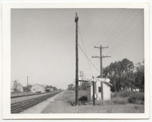 Union Pacific Railroad Company's box depot, Grantville, Kansas - Page