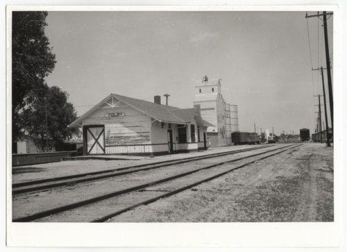 Union Pacific Railroad Company depot, Colby, Kansas - Page