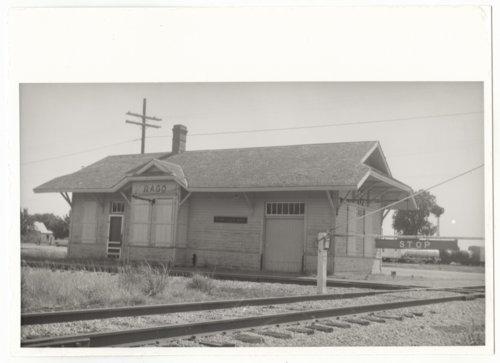 Atchison, Topeka & Santa Fe Railway Company depot, Rago, Kansas - Page