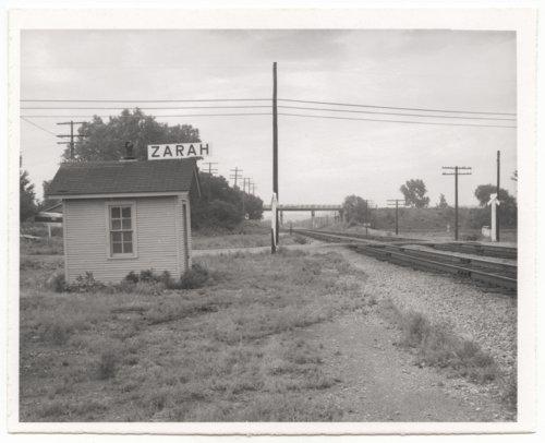 Atchison, Topeka & Santa Fe Railway Company depot, Zarah, Kansas - Page
