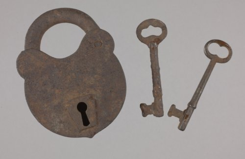 Padlock and Keys from the Plowboy Site, 14SH372 - Page