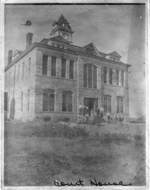 Graham County Courthouse, Hill City, Kansas. - Page