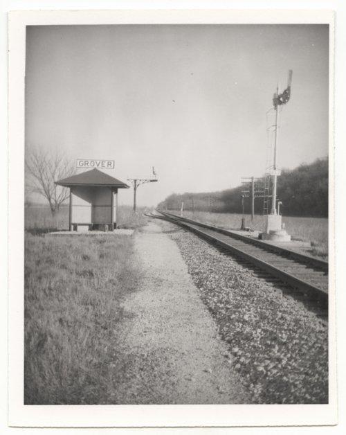 Atchison, Topeka & Santa Fe Railway Company shed depot, Grover, Kansas - Page