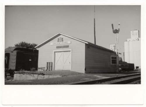 Chicago, Rock Island & Pacific Railroad depot, Greensburg, Kansas - Page