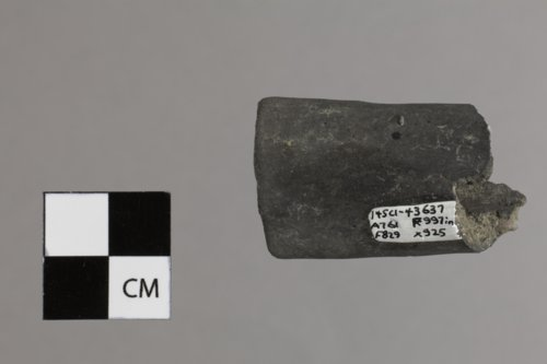 Ceramic Pipe Fragment from El Cuartelejo, 14SC1 - Page