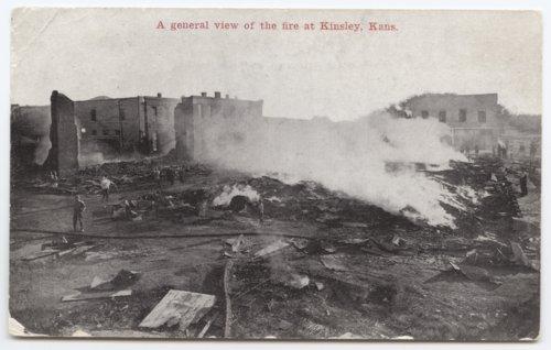 Fire, Kinsley, Kansas - Page