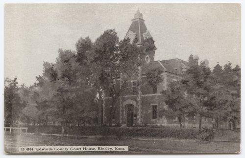 Edwards County Courthouse, Kinsley, Kansas - Page