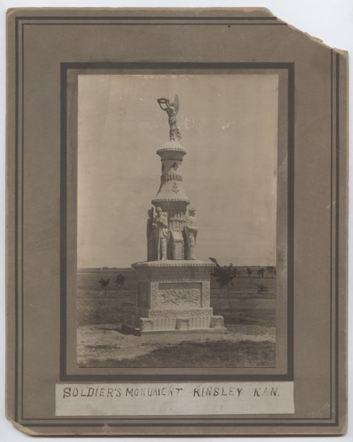 Soldier's Monument, Kinsley, Kansas - Page