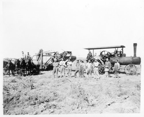 Crop harvesting, Edwards County, Kansas - Page