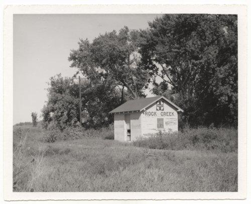 Atchison, Topeka and Santa Fe Railway Company box depot, Rock Creek, Kansas - Page