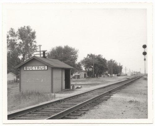 Missouri Pacific Railroad Company's box depot, Bucyrus, Kansas - Page