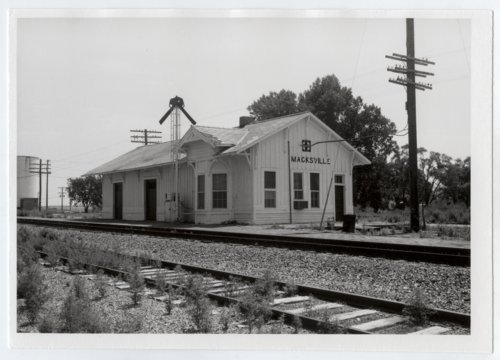 Atchison, Topeka and Santa Fe Railway Company depot, Macksville, Kansas - Page