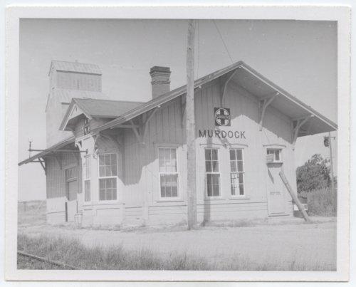 Atchison, Topeka and Santa Fe Railway Company depot, Murdock, Kansas - Page