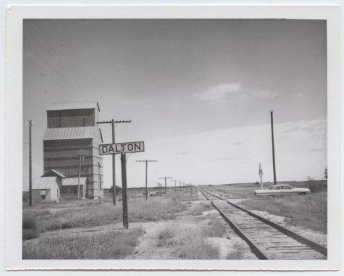Atchison, Topeka & Santa Fe Railway Company's sign board, Dalton, Kansas - Page