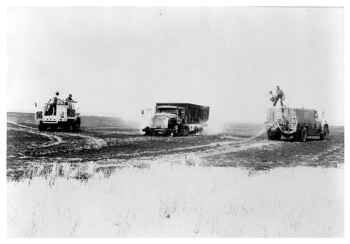 Wheat fire, Logan County, Kansas - Page