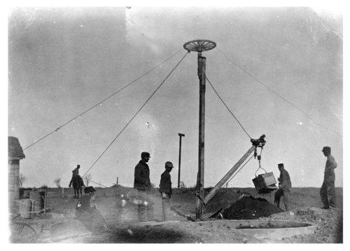 Digging a well, Logan County, Kansas - Page