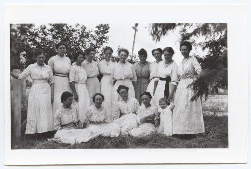 Groups of people, Logan County, Kansas - Page