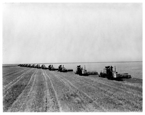 McCormick-Deering combines, Logan County, Kansas - Page
