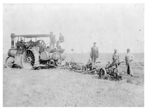 Gaar-Scott tractor and sod-breaking plow, Logan County, Kansas - Page