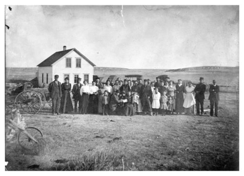 Amos Bull's golden anniversary, Logan County, Kansas - Page