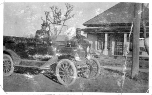 People in automobiles, Logan County, Kansas - Page