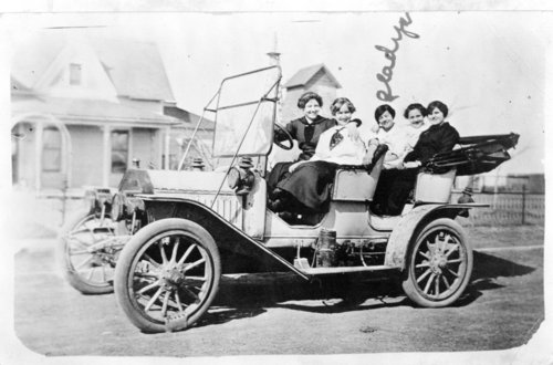 People with automobiles, Logan County, Kansas - Page