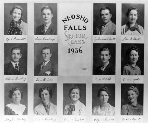 Senior class of Neosho Falls High School - Page