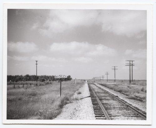 Missouri Pacific Railroad Company's sign board, Beckley, Kansas - Page