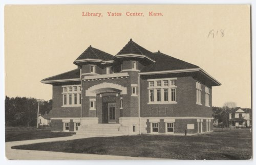 Library in Yates Center, Woodson County, Kansas - Page