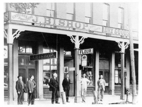 J. Bishop Dry Goods store, Neosho Falls, Woodson County, Kansas - Page