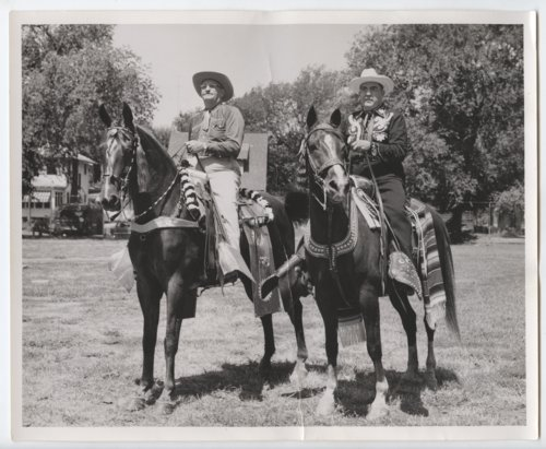 Art Harm and Lee Spencer of the Shawnee County Mounted Posse - Page