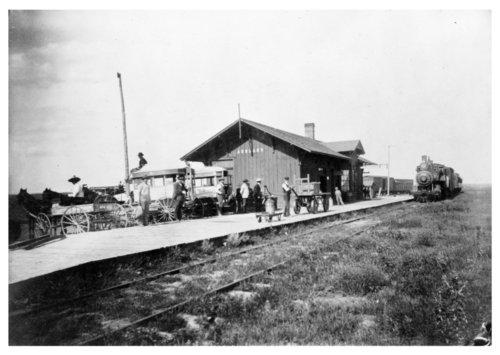 Atchison, Topeka and Santa Fe Railway Company depot, Ashland, Kansas - Page