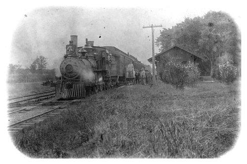 Atchison, Topeka and Santa Fe Railway Company depot, Vinland, Kansas - Page