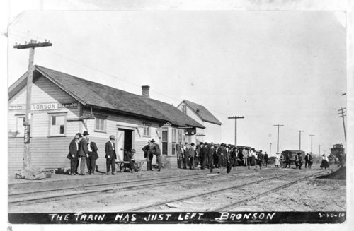 Missouri Pacific Railroad depot, Bronson, Kansas - Page