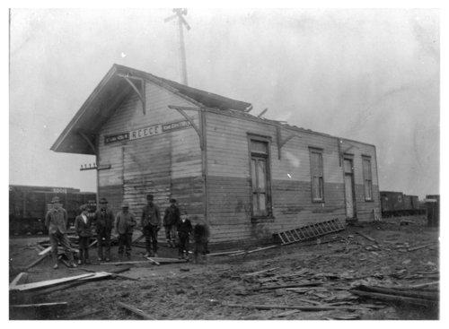 Missouri Pacific Railroad depot, Reece, Kansas - Page