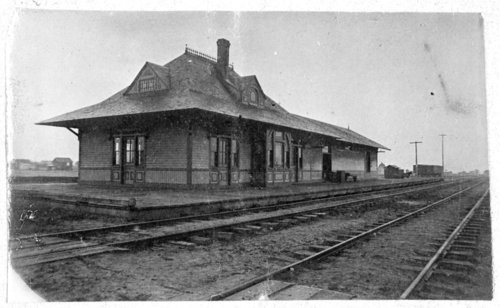 Southwestern Railway & St. Louis San Francisco Railway depot, Anthony, Kansas - Page