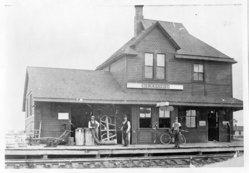 Chicago, Rock Island, and Pacific Railroad depot, Rexford, Kansas - Page