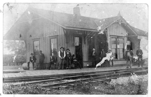 Atchison, Topeka & Santa Fe Railway Company depot, Valley Center, Kansas - Page