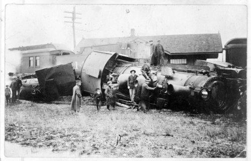 Train collision, Valley Center, Kansas - Page