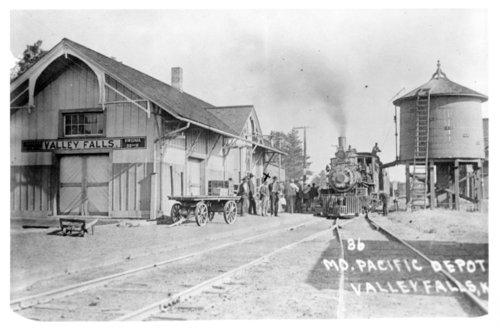 Missouri Pacific Railroad depot, Valley Falls, Kansas - Page