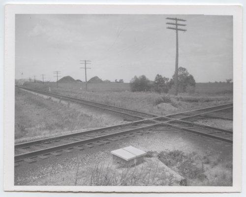 Kansas City Southern crossing, Arcadia, Kansas - Page