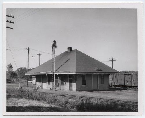 St. Louis-San Francisco Railway depot, Arcadia, Kansas - Page