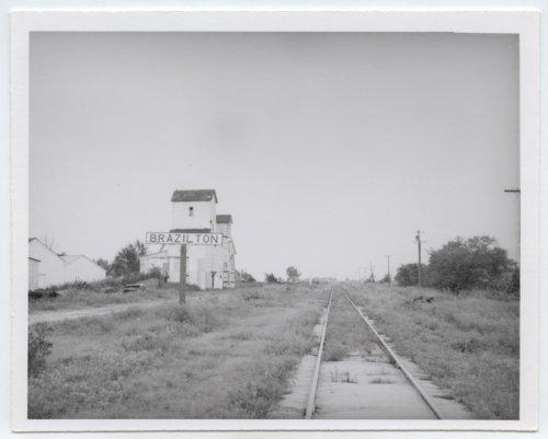 Atchison, Topeka & Santa Fe Railway Company's sign board, Brazilton, Kansas - Page