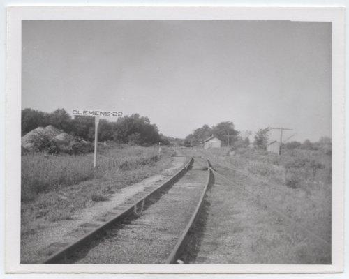 St. Louis, San Francisco Railway sign board, Clemens, Kansas - Page